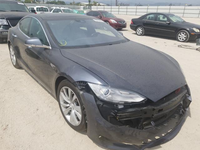 Tesla salvage cars for sale: 2015 Tesla Model S