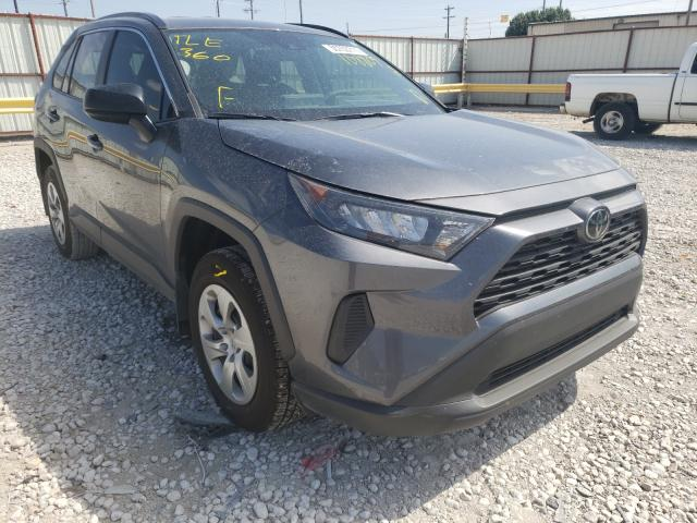 Salvage cars for sale from Copart Haslet, TX: 2021 Toyota Rav4 LE