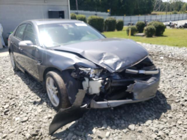 Salvage cars for sale from Copart Mebane, NC: 2008 Acura TL