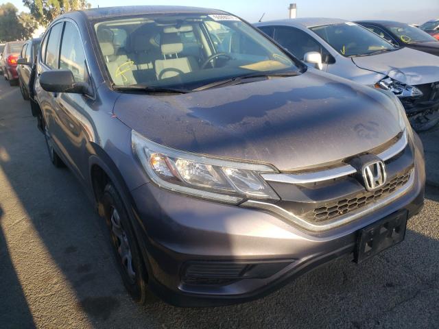Vehiculos salvage en venta de Copart Martinez, CA: 2016 Honda CR-V LX