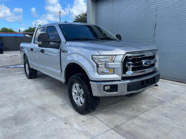 Salvage trucks for sale at Opa Locka, FL auction: 2016 Ford F150 Super