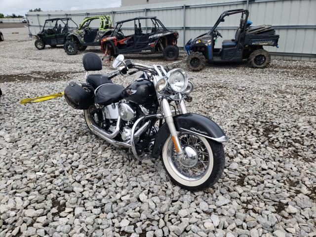 Salvage cars for sale from Copart Earlington, KY: 2005 Harley-Davidson Flstni