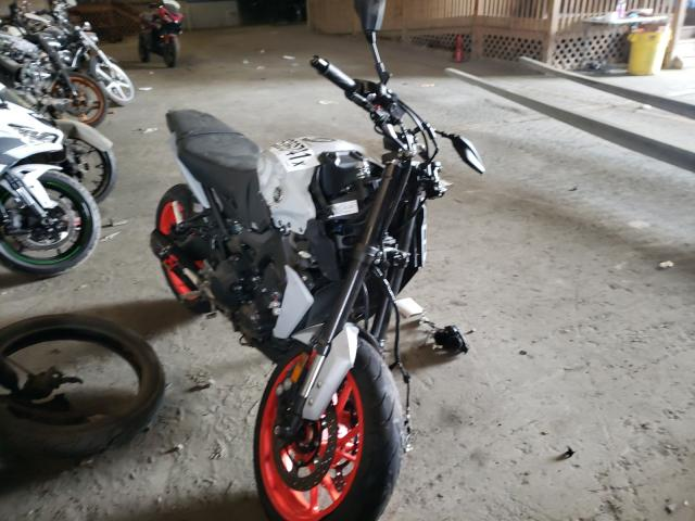 Salvage cars for sale from Copart Windsor, NJ: 2020 Yamaha MT09