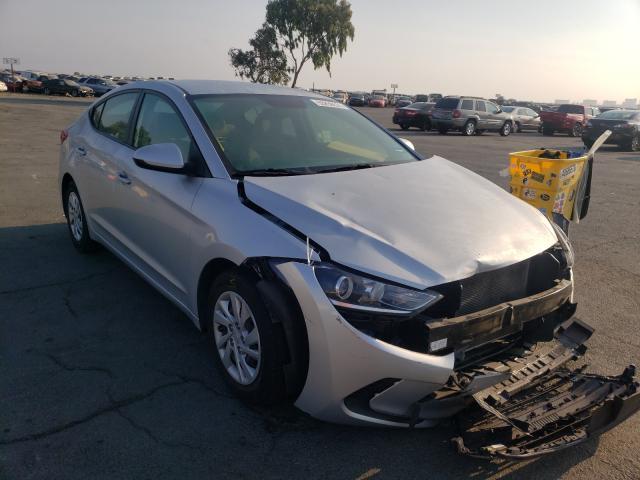 Vehiculos salvage en venta de Copart Martinez, CA: 2017 Hyundai Elantra SE