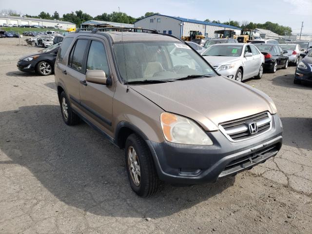 Vehiculos salvage en venta de Copart Pennsburg, PA: 2002 Honda CR-V EX