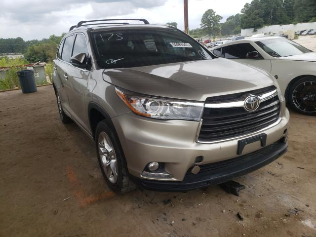 Salvage cars for sale from Copart Fairburn, GA: 2015 Toyota Highlander