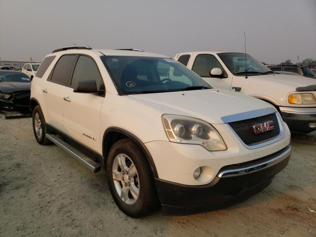 Salvage cars for sale from Copart Antelope, CA: 2008 GMC Acadia SLE