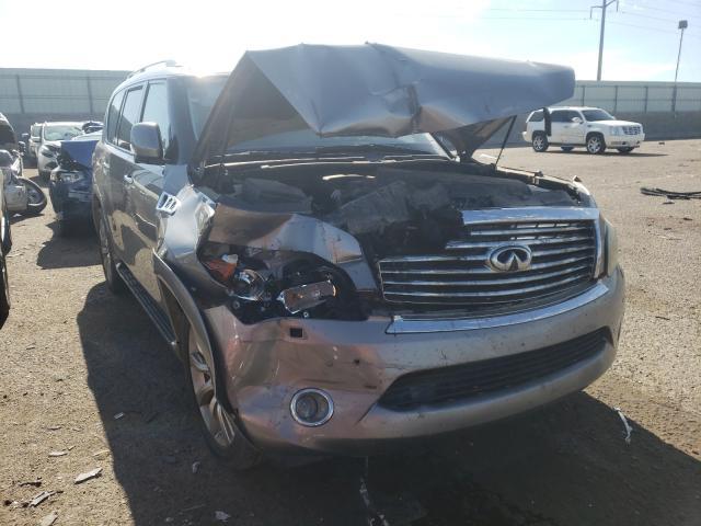 Salvage cars for sale at Albuquerque, NM auction: 2011 Infiniti QX56