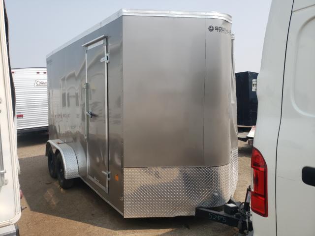 Cargo Trailer salvage cars for sale: 2021 Cargo Trailer