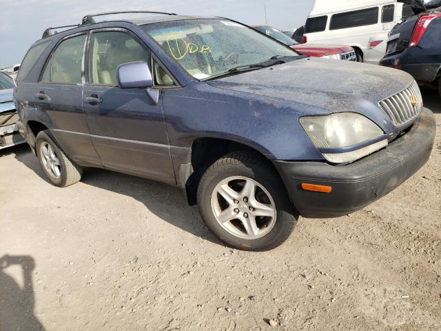 Lexus RX 300 salvage cars for sale: 1999 Lexus RX 300