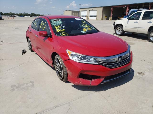 Vehiculos salvage en venta de Copart Wilmer, TX: 2016 Honda Accord Sport