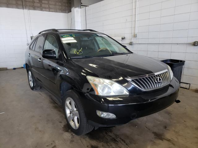 Salvage cars for sale from Copart Blaine, MN: 2008 Lexus RX 350