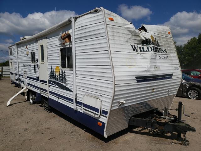 Salvage cars for sale from Copart Davison, MI: 2007 Wildcat Travel Trailer