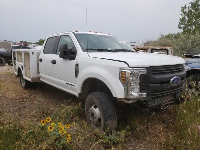 Salvage cars for sale from Copart Billings, MT: 2019 Ford F350 Super