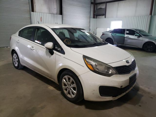Salvage cars for sale from Copart Lufkin, TX: 2013 KIA Rio LX