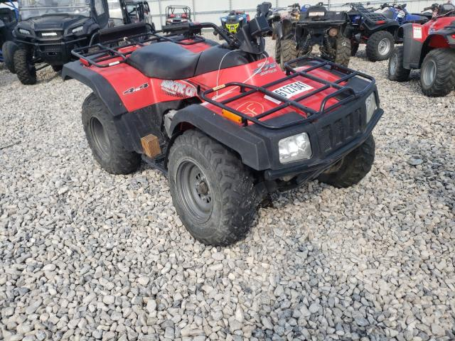 Salvage motorcycles for sale at Magna, UT auction: 2002 Arctic Cat 375 ATV