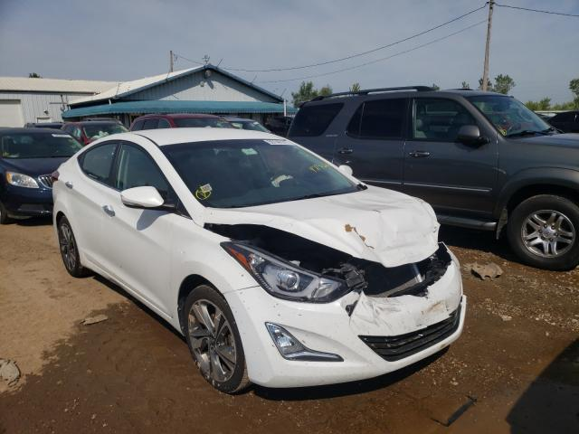 Salvage cars for sale from Copart Pekin, IL: 2014 Hyundai Elantra SE