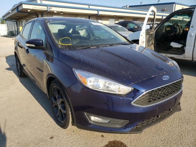 Salvage cars for sale from Copart Elgin, IL: 2016 Ford Focus SE