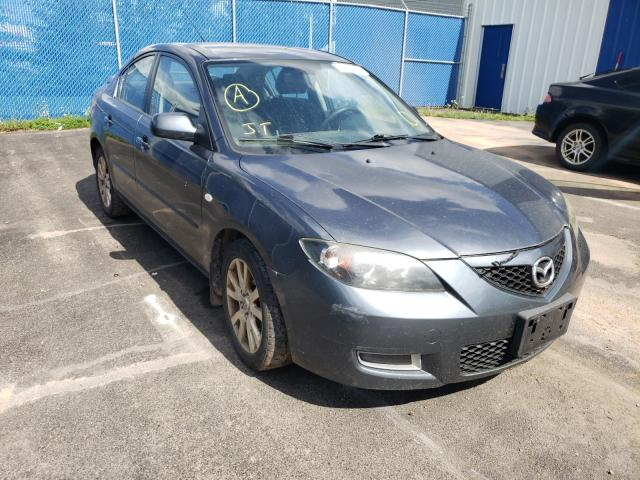 Salvage cars for sale at Moncton, NB auction: 2008 Mazda 3 I
