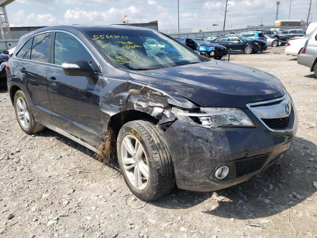 Salvage cars for sale from Copart Columbus, OH: 2015 Acura RDX Techno