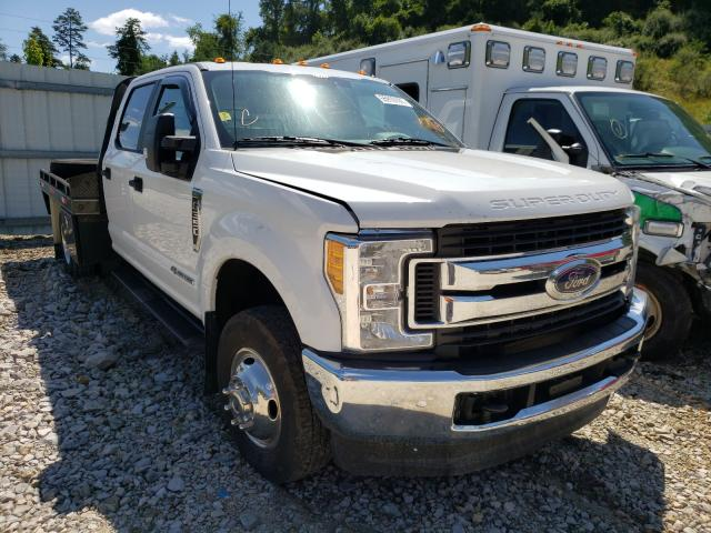 Salvage cars for sale from Copart Hurricane, WV: 2017 Ford F350 Super
