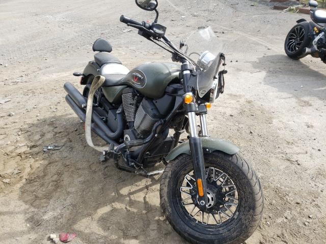 Salvage motorcycles for sale at Waldorf, MD auction: 2015 Victory Gunner