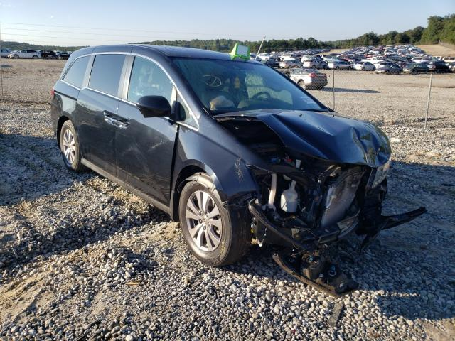 Salvage cars for sale from Copart Gainesville, GA: 2015 Honda Odyssey EX