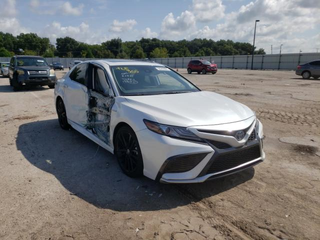 Toyota salvage cars for sale: 2021 Toyota Camry XSE