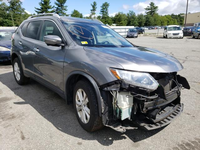 Salvage cars for sale from Copart Exeter, RI: 2015 Nissan Rogue S