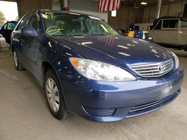 Salvage cars for sale from Copart Blaine, MN: 2006 Toyota Camry LE