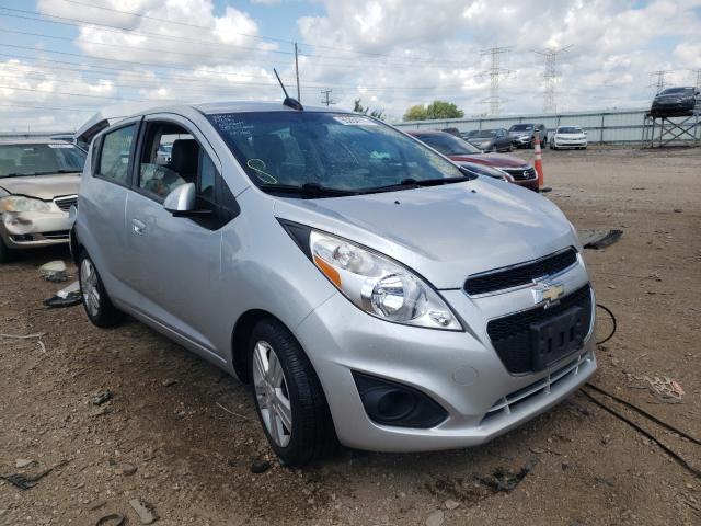 Salvage cars for sale at Elgin, IL auction: 2015 Chevrolet Spark 1LT