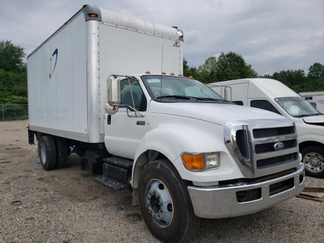 Salvage cars for sale from Copart Columbus, OH: 2011 Ford F650 Super