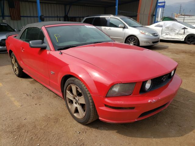 Salvage cars for sale from Copart Colorado Springs, CO: 2006 Ford Mustang GT
