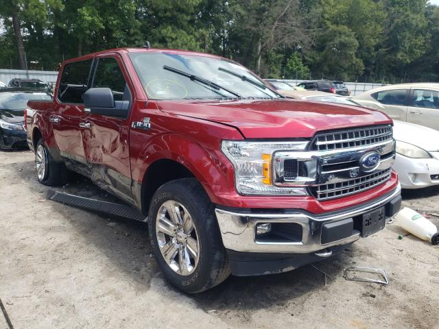 Salvage cars for sale from Copart Austell, GA: 2019 Ford F150 Super