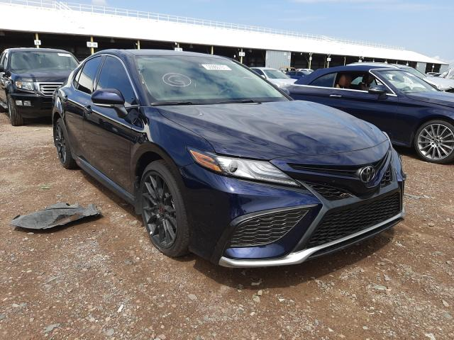 Salvage cars for sale at Phoenix, AZ auction: 2021 Toyota Camry XSE