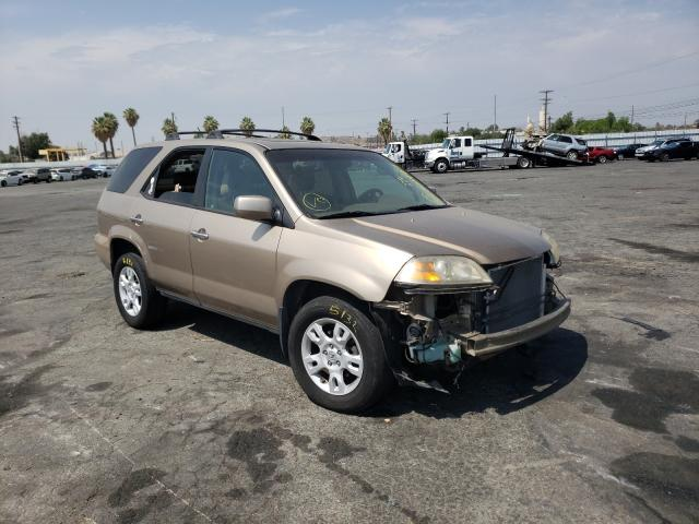 Acura salvage cars for sale: 2004 Acura MDX Touring