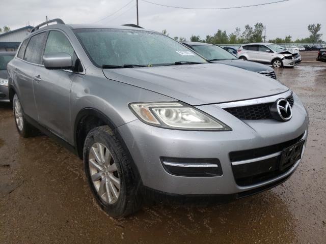 Salvage cars for sale from Copart Pekin, IL: 2009 Mazda CX-9