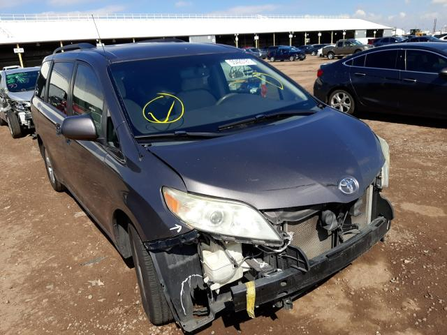 Salvage cars for sale from Copart Phoenix, AZ: 2012 Toyota Sienna LE