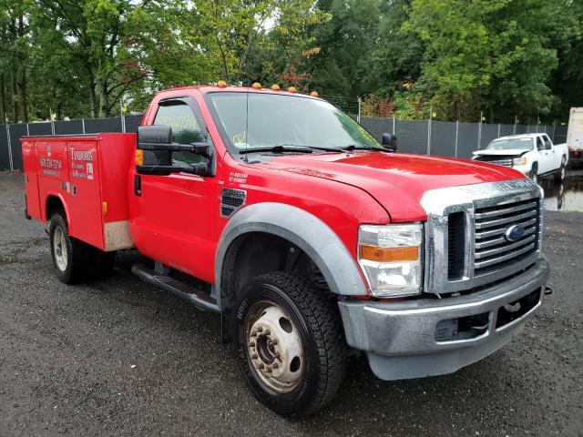 Vehiculos salvage en venta de Copart New Britain, CT: 2010 Ford F550 Super