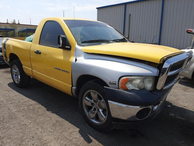 Salvage cars for sale from Copart Las Vegas, NV: 2004 Dodge RAM 1500 S