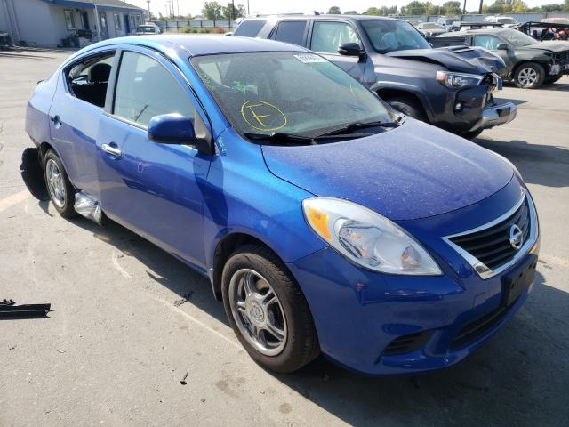Salvage cars for sale at Nampa, ID auction: 2014 Nissan Versa