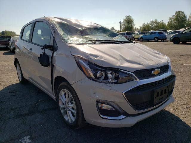Salvage cars for sale at Portland, OR auction: 2021 Chevrolet Spark 1LT