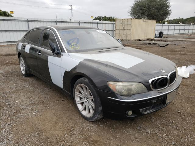 Salvage cars for sale from Copart San Diego, CA: 2006 BMW 750 LI