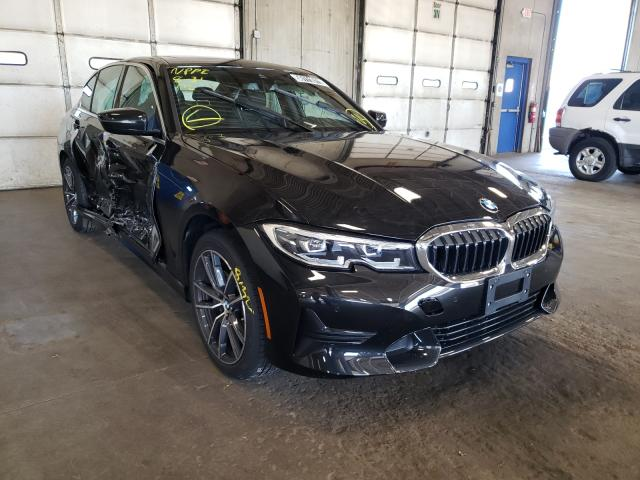 Salvage cars for sale from Copart Blaine, MN: 2021 BMW 330XI