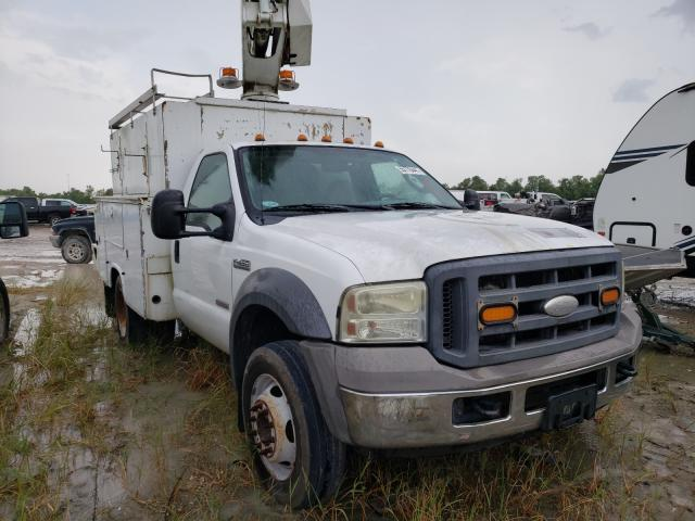 Salvage cars for sale from Copart Houston, TX: 2005 Ford F450 Super