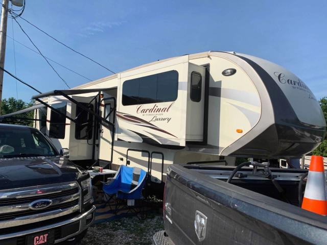 Salvage cars for sale from Copart Hurricane, WV: 2018 Wildwood Cardinal