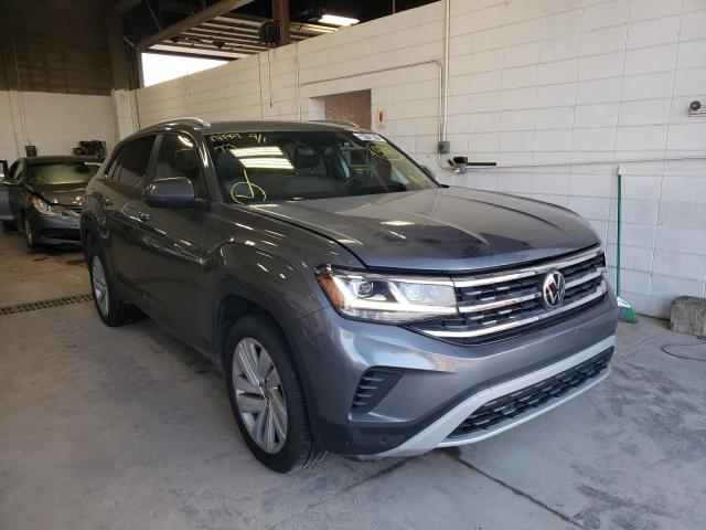 Salvage cars for sale from Copart Blaine, MN: 2021 Volkswagen Atlas Cros