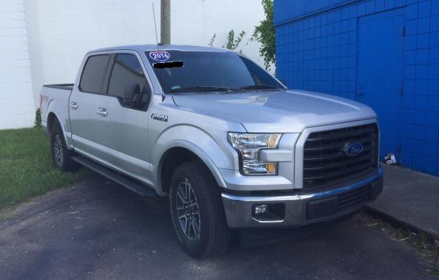 Vehiculos salvage en venta de Copart Woodhaven, MI: 2016 Ford F150 Super