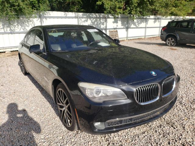 Salvage cars for sale from Copart Knightdale, NC: 2011 BMW 750 LI