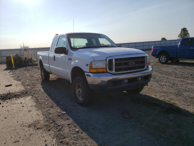 Salvage cars for sale from Copart Airway Heights, WA: 2001 Ford F250 Super
